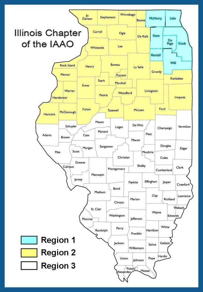 IAAO Illinois Districts 2018